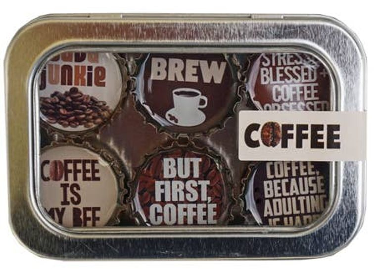 Coffee Magnet - Six Pack