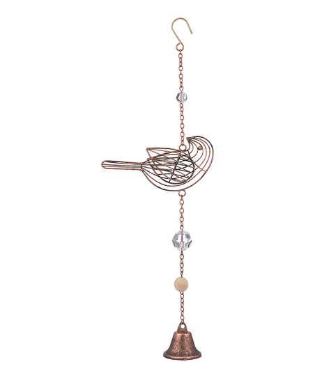 Hanging wire bird decor