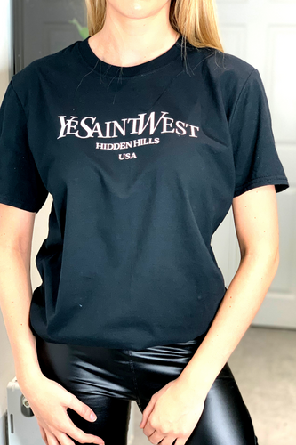 Black Ye Saint West T-shirt