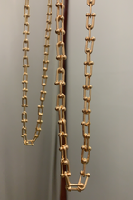 Load image into Gallery viewer, Gold chain necklace