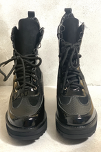 Load image into Gallery viewer, Black biker boots