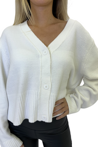 Cream cloud cardigan