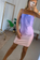 Ombre lilac dress