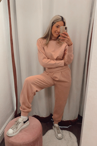 Dusky pink loungewear set