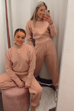 Load image into Gallery viewer, Dusky pink loungewear set
