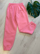 Load image into Gallery viewer, Pink oversized joggers