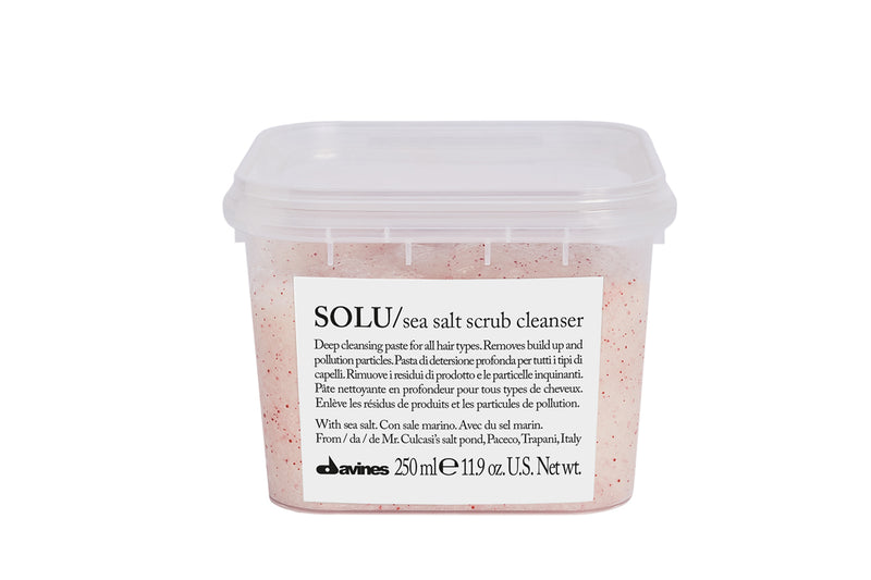 SOLU Sea Salt Scrub Cleanser - Hair Sweet Hair