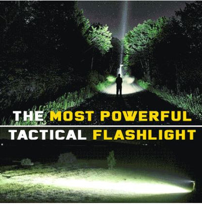 The Most POWERFUL Tactical Flashlight