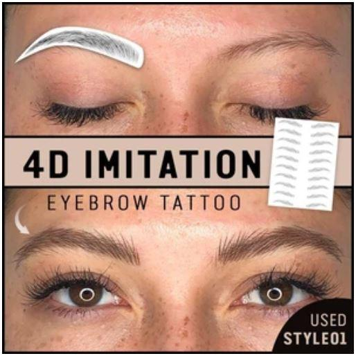 4D Imitation Eyebrow Tattoos
