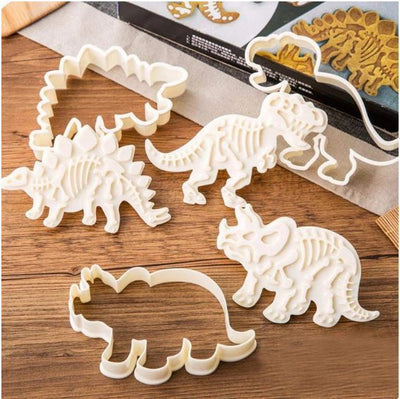 Dinosaur Cookie Molds - Members Only