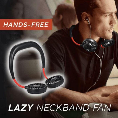 2020 New Portable Hanging Neck Fan