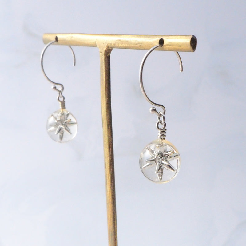 Everlasting Drop Silver Star</br>【ピアス/イヤリング】