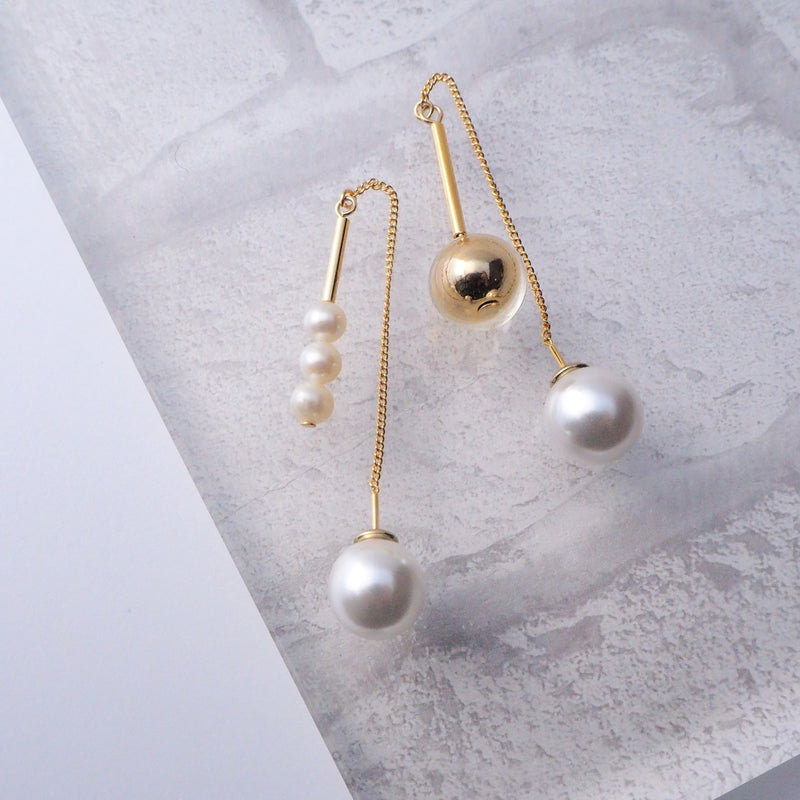 Clackers pearl</br>【ピアス/イヤリング】