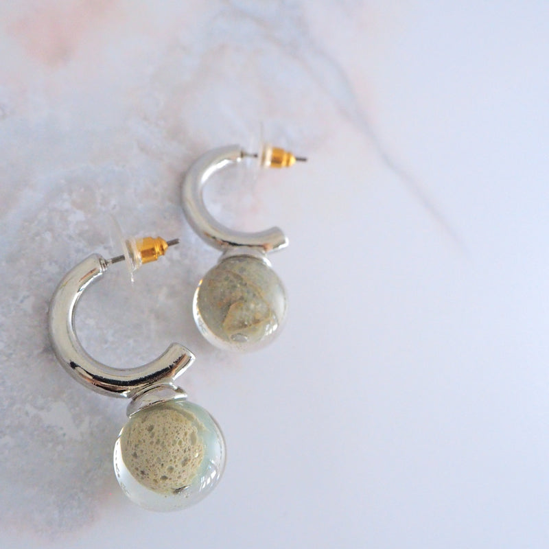 land Silver</br>【ピアス/イヤリング】