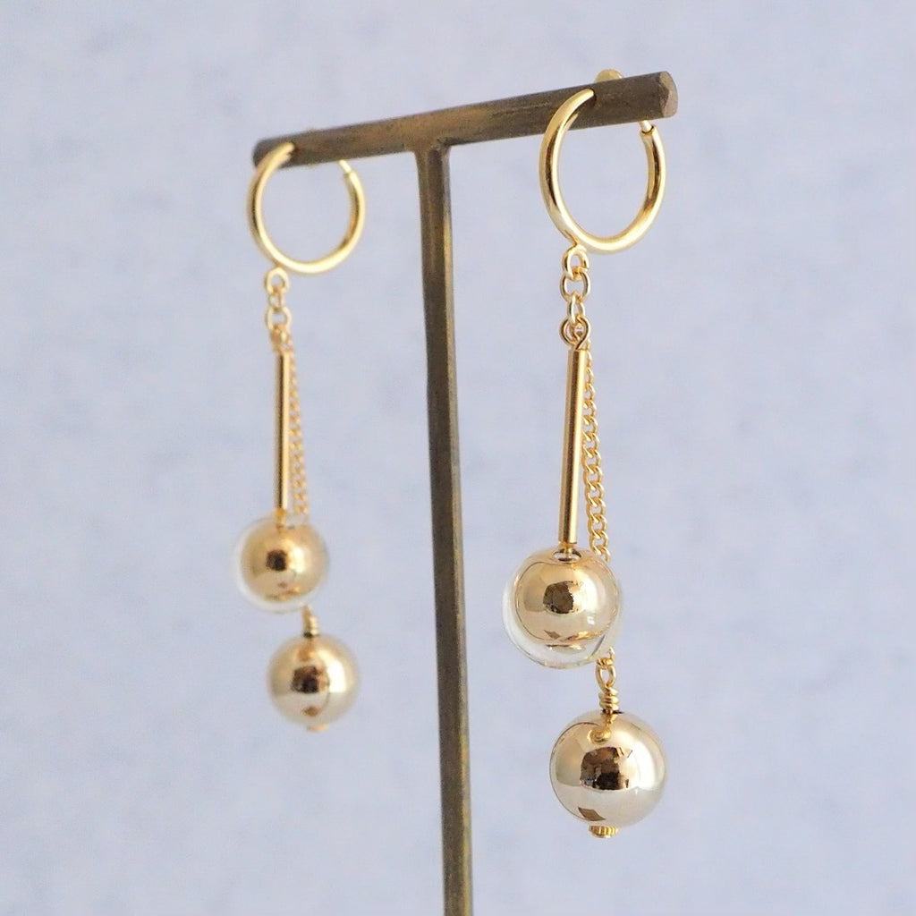 Clackers gold</br>【ピアス/イヤリング】
