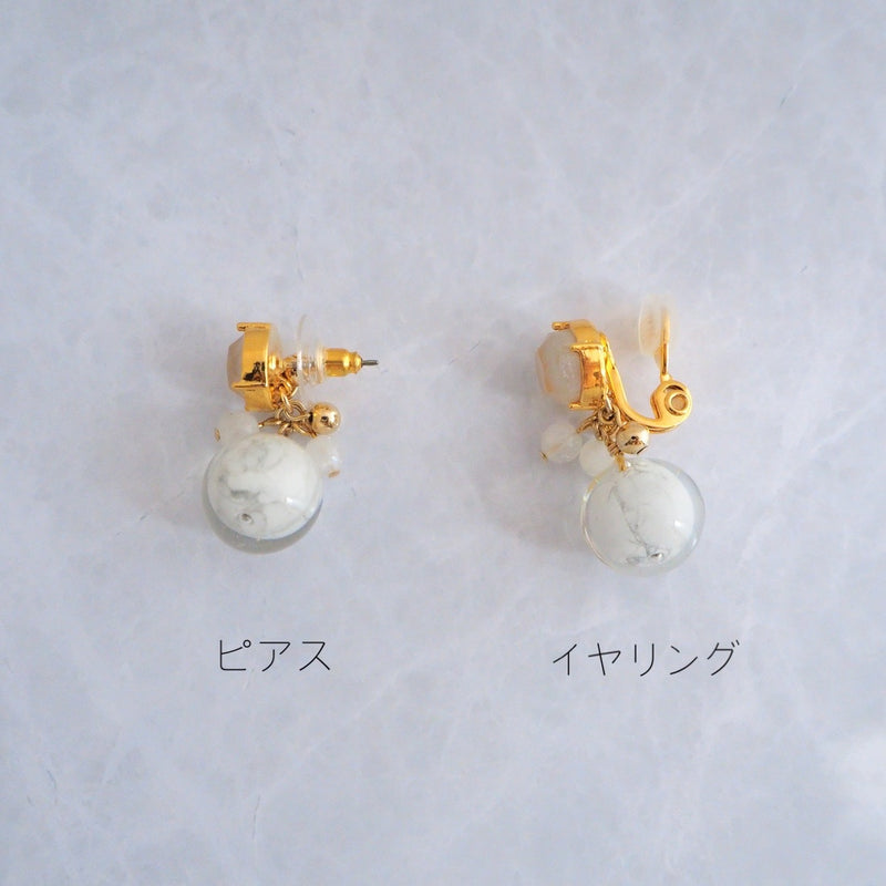 Mable Gold</br>【ピアス/イヤリング】