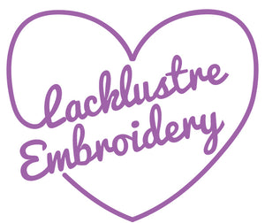 Lacklustre Embroidery