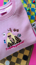 Load image into Gallery viewer, Gemma Collins Gamed Out Embroidered Sweatshirt