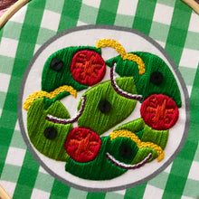 Load image into Gallery viewer, Make your own Embroidered Dinner Plate Kit