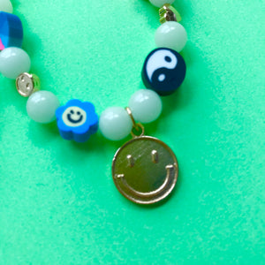 90'S Core Glow in the Dark Pearl Necklace
