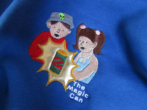 The Magic Can Biff and Chip Embroidered Tshirt