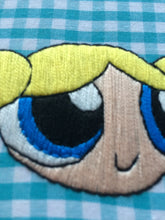 Load image into Gallery viewer, Bubbles Powerpuff Girl Hand Embroidery
