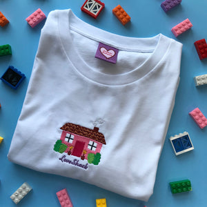 Love Shack House Embroidered Tshirt