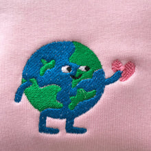 Load image into Gallery viewer, What a Lovely World Embroidered Sweatshirt