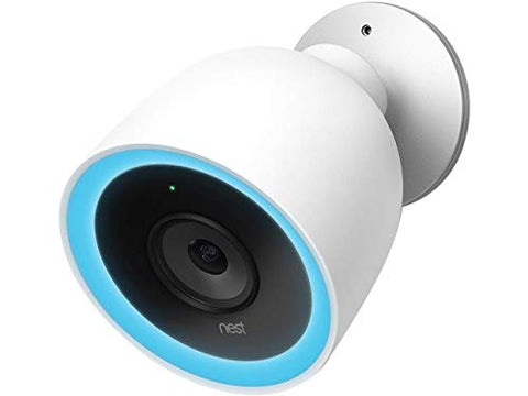 Google Nest Plug-in Wired Outdoor Security Camera (Wi-Fi Enabled, HDR Imaging)