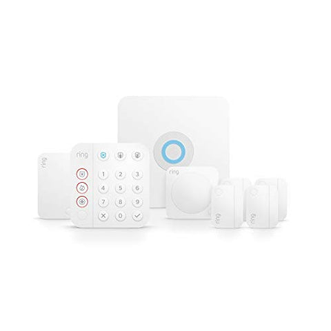 All-new Ring Alarm 8-piece kit (2nd Gen) – home security system with optional 24/7 monitoring