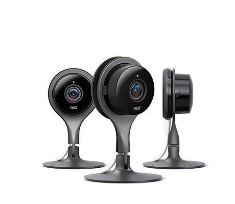 Google Nest Cam - Indoor Home Security Camera with Night Vision  works with Google