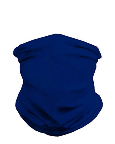 INTO THE AM Blue Royal Multi-Functional Seamless Face Mask Bandana (Blue Royal)