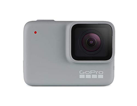 GoPro Hero7 White — Waterproof Action Camera with Touch Screen 1080p HD Video 10 MP Photos