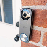 Remo+ RemoBell S WiFi Video Doorbell Camera with HD Video, Motion Sensor