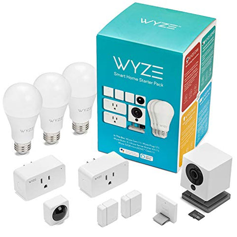 Wyze Cam 1080p HD Indoor Smart Home Camera with Night Vision, 2-Way Audio