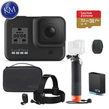 GoPro HERO8 Black Action Camera w/GoPro Adventure Kit and 32GB Memory Card