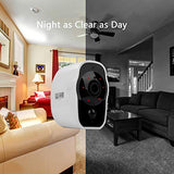 Outdoor Security Camera, 1080P WiFi Wireless Rechargeable Battery Powered Camera