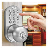 MiLocks TKK-02SN Tkk-Sn Digital Door Knob Lock with Electronic Keypad