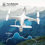 Potensic T25 GPS Drone, FPV RC Drone with Camera 1080P HD WiFi Live Video, Auto Return