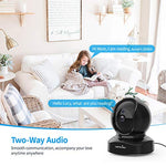 Wansview Wireless Security Camera, IP Camera 1080P HD, WiFi Home Indoor Camera