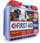 100Piece First Aid Kit, Clean, Treat & Protect Most Injuries With The Kit