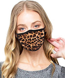 FASHIONOLIC Fashion Cloth Face Mask Cotton Thin Breathable Washable Reusable Camo