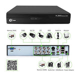 XVIM 8CH 1080P Security Camera System Outdoor with 1TB Hard Drive Pre-Install CCTV