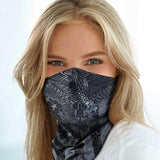 Neck Gaiter Face Mask Scarf - Proudly Made in The USA. Sun & Dust Protection