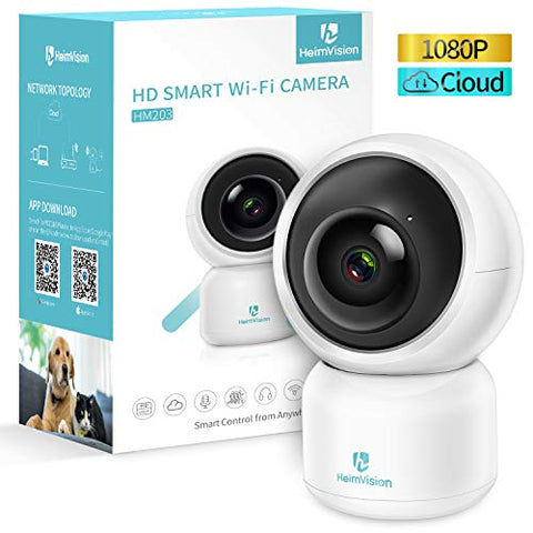 HeimVision 1080P Security Camera, HM203 UG WiFi Home Indoor Camera