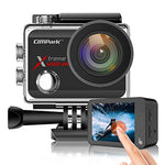Campark X30 Action Camera Native 4K 60fps 20MP WiFi with EIS Touch Screen Waterproof