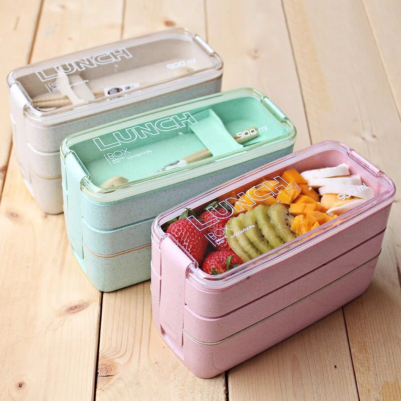 Separate Microwave Oven Light Lunch Box