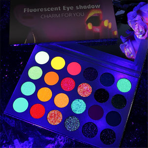 Aurora Glow Eyeshadow Palette 24 colors