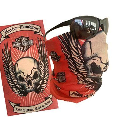 branded motorcycle bandana