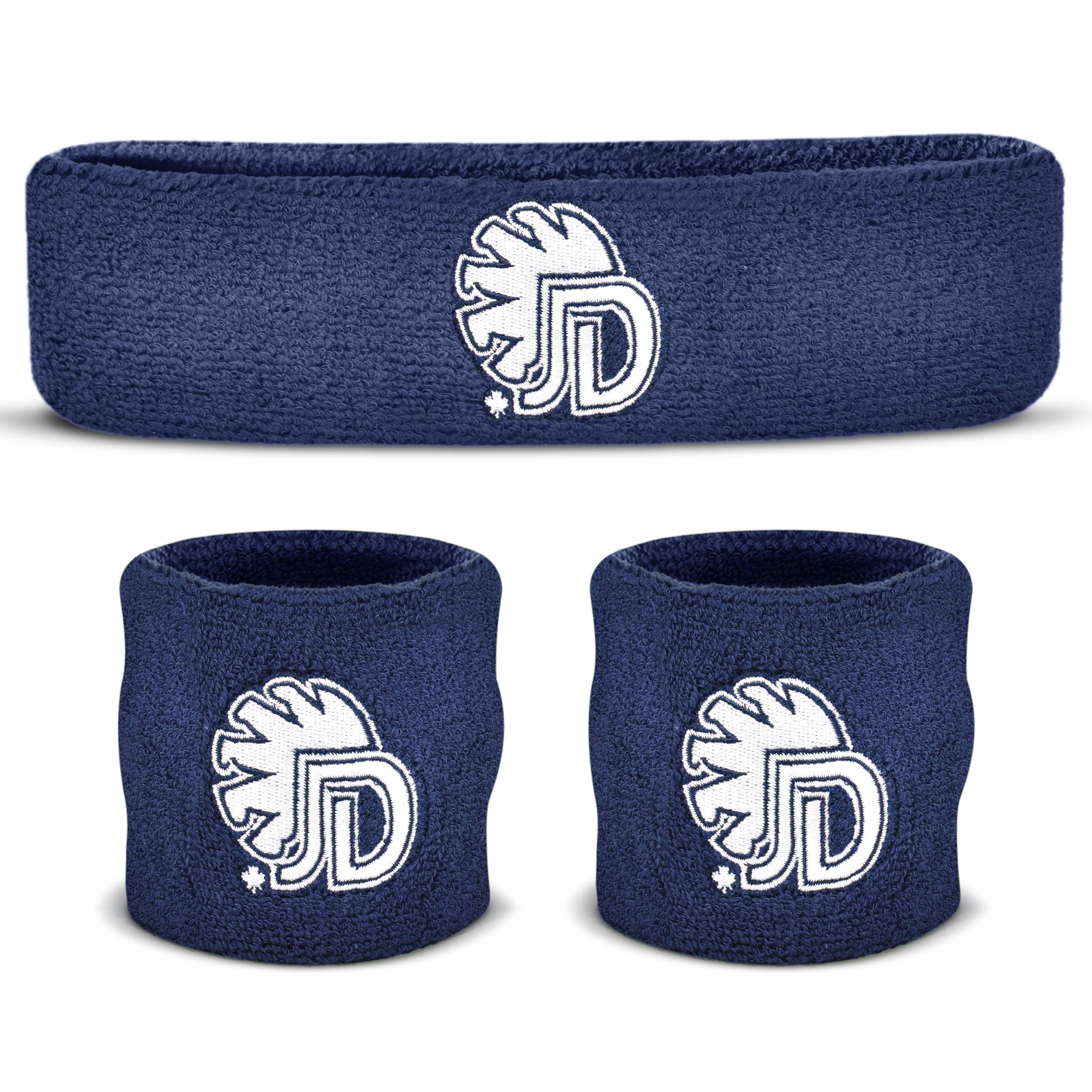Custom Sweatband Set (1 Headband and 2 Wristbands)